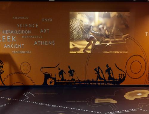 Δυτικά της Ακρόπολης | 3D Εικονική Περιήγηση | Εκθεσιακός Χώρος « ΤΕΧΝΗ & ΠΟΛΙΤΙΣΜΟΣ » | ΑΙΑ Επίπεδο Αφίξεων