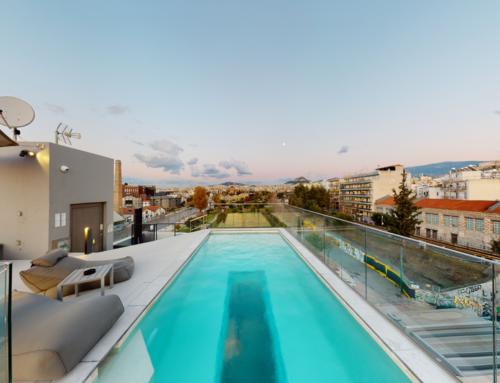 Airbnb κατοικία από την HOSTMASTER | Διαμέρισμα στο κέντρο της Αθήνας | 3D Εικονική Περιήγηση